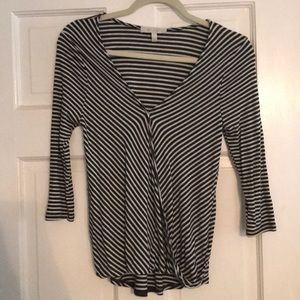 Eri & Ali 3/4 Length Sleeve Top Anthropologie
